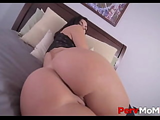 MILF Stepmom Big Breast And Big Ass Family Coitus With Young Stepson To Say Thank You POV